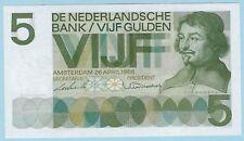 Netherlands - 5 Gulden - 26.04.1966 - WPM# 90a