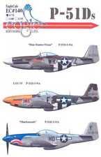 Eaglecals decals 1/72 American North American P-51D Mustang #140