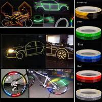 6 farben Motorrad Felgenband Reflektierende Rad Vinyl Aufkleber 1 cm * 8 mt
