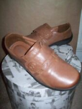HOTTER Flat Shoes Sugar Size 6 EEE Velcro Tan Brown Worn once