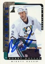 BOBBY DOLLAS MIGHTY DUCKS AUTOGRAPH AUTO 96-97 BE A PLAYER BAP #96 *31423