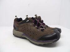 Merrel Women's Avian Light Leather Bracken Hiking Trail Shoe Brown/Purple 8.5M