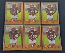 LOT OF (6) 2011 BOWMAN CHROME A.J. GREEN RC BCR-23 BENGALS