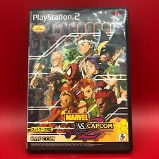 MARVEL VS. CAPCOM2 PS2 New Age of Heroes Japan ver.Used Tested