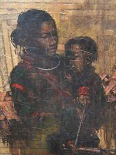 Vintage Thai Painting on Board Signed Prayat?