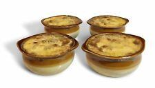 Furmaware French Onion Crock Soup Bowls Set of 4 - 12 ounces
