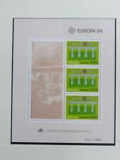 TIMBRES DE MADERE : 1984 YVERT BLOC FEUILLET N° 5** NEUF SANS CHARNIERE - TBE
