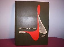 1963 MIDLANDER Middle Tennesse State College yearbook, Murfreesboro, TN