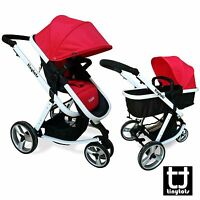 Urban by Tinytots 3in1 Combi Stroller - Travel System Baby Pram Pushchair