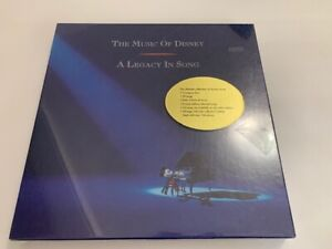 The Music of Disney The Legacy in Song 3 CD Box Set New and Sealed