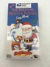 The Rudolph Frosty & Friends Sing Along Priority Mail VHS 1996 Sealed Santa
