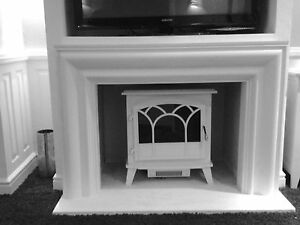 F18 Apollo Fire Surround in Plaster - BIRMINGHAM COLLECTION ONLY
