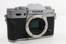Fujifilm X-T10 Body silber, guter Zustand