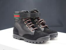GUCCI Suede Guccissima Nero Boot Toddler size 12 US / 29 IT