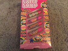 New Sealed Sweet Shop Lip Balm Collection - Raspberry Fruit Salad Bubble Gum