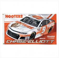 Chase Elliott #9 Hooters 2018 One Sided Flag 3' X 5' NASCAR