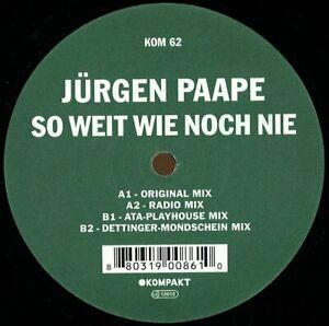 Jürgen Paape - So Weit Wie Noch Nie / KOMPAKT Klassiker NEW