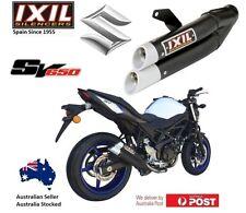 Suzuki SV650 / X / LAMS 2017-2018 IXIL L3X Black slip-on exhaust