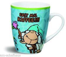 Nici Fancy Mug Tasse ERST MAL KAFFEE!!! Becher Spülm. Mikrow. Geschenk 36768