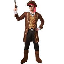 Piratenkostüm Piraten Fasnacht Herren Kostüm Seeräuber Freibeuter Verkleidung