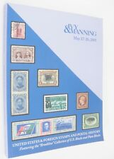 US & Foreign Stamps Postal History Plate Blocks 2005 Ivy Manning Auction Cat