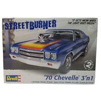 Revell 1970 Chevelle StreetBurner 3 in 1 Model Car Kit 1:24 Scale 85-2715 Sealed