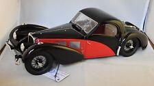 BAUER - BUGATTI Type 57C Atalante - 1939  Rouge / Noir 1/12  BAUER HB7828Z75