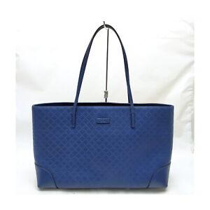 Gucci Tote Bag Diamante Blue PVC 1422744