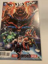 Justice league 50 Darkseid war, 1st Print, Near Mint, Bagged And Boarded