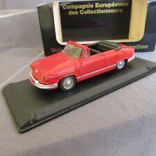 813E Eligor CEC V1192 Panhard Cabriolet Rouge 1:43