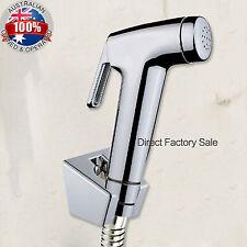 Handheld Shower Head Water Toilet Bidet Spray Wash Jet Shattaf Diverter Set Kit