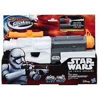 NERF Stormtrooper Super Soaker Water Gun B4441 Star Wars Force Awakens Blaster