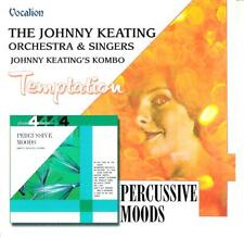 "JOHNNY KEATING  "" Temptation / Percussive Moods ""  2on1  Vocalion CD"