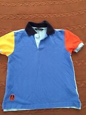 BROOK BROTHERS SMALL (6-8) MULTICOLOR POLO SHIRT