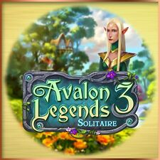 ⭐️ Avalon Legends Solitaire 3 - English Version - PC - Instant Delivery ⭐️