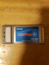 D-Link Air Plus Xtreme G, 2.4GHz Wireless Cardbus Adapter DWL-G630, *UNTESTED*