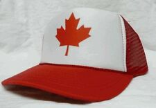 Canada Trucker Hat mesh hat snapback hat red