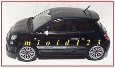 1/43 - Fiat Nuova 500 Abarth - Nera - Die-cast Motorama