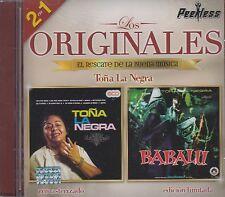 Tona La Negra Los Originales 2 en 1 CD New Nuevo sealed