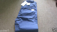 Ben sherman Cotton chino trousers 33in 32L Slim   New with tags  Blue ..RRP £75