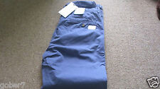 Ben sherman Cotton chino trousers 34in 32L Slim   New with tags  Blue  RRP £75