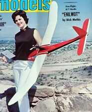 """Vintage NOMAD & JAVAL AERO 1/2A RC Gliders Model Airplane PLANS Enlarged to 72"""""""