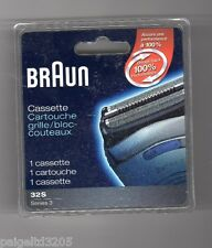BRAUN 32S SERIES 3 REPLACEMENT CARTRIDGE / SHAVER HEAD CASSETTE