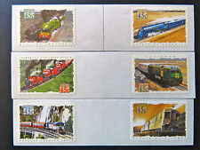 Australian Decimal Stamps:1993 Trains in Australia - Set 6 P&S MNH