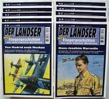 Der Landser Fliegergeschichten Band 20-29 (20 21 22 23 24 25 26 27 28 29)