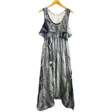 Cotton/Polyester Scoop Neck Regular Size Dresses for Women