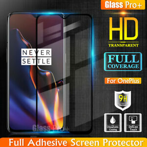 GLASS PRO+ Full Cover Tempered Glass Screen Protector For OnePlus 6T 6 5 3T 3