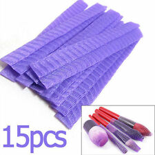 15x MAKE UP BRUSH Protettori-Bellezza Cosmetici netting GUAINA Guard mesh cover-uk