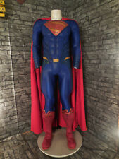 """Dawn Of Justice Superman Costume """"Royal Blue"""" w/ Muscle Suit"""