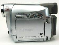 Canon ZR100A MiniDV Camcorder UNTESTED FOR PARTS/REPAIR
